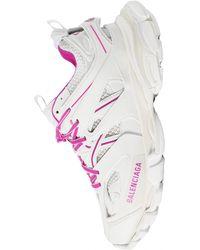 Balenciaga Белые Кроссовки Track - Многоцветный