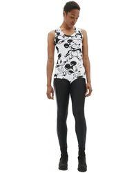 Comme des Garçons Mickey Mouse Printed Bodysuit - Black