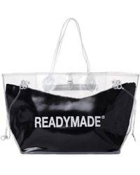 READYMADE Transparent Roomy Bag - Black
