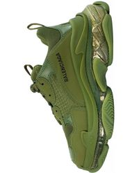 Balenciaga Кроссовки Triple S - Зеленый