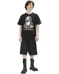 READYMADE Mona Lisa T-shirt In - Black