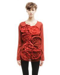Comme des Garçons - Wool And Acryl Jumper - Lyst