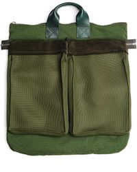 Hender Scheme Khaki Multi Helmet Bag - Green