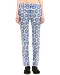 Maison Margiela - Cotton And Polyester Trousers - Lyst