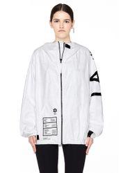 Ueg - La Printed Tyvek Jacket - Lyst