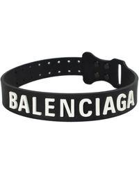 Balenciaga Чокер С Логотипом - Черный