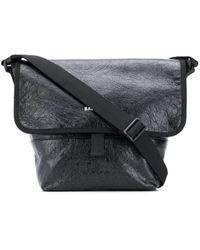 Balenciaga Кожаная Сумка Exlorer Bag - Черный