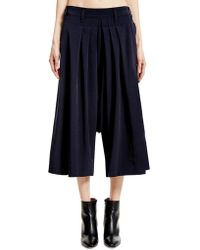 Y's Yohji Yamamoto - Triacetate And Polyester Trousers - Lyst