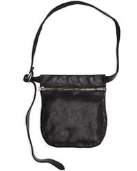 Guidi - Leather Zipped Waist Bag - Lyst