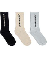 Yeezy - Calabasas Sock Pack - Lyst