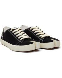 Maison Margiela Black Tabi Sneakers