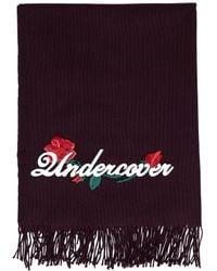 Undercover - Embroidered Wool & Cashmere Scarf - Lyst