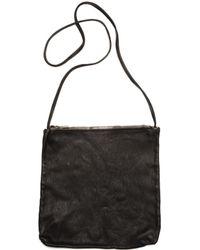 Guidi Black Leather Bag