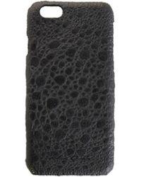 Rick Owens Чехол Для Iphone 6/6s Из Фактурной Кожи - Черный