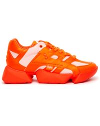 Junya Watanabe Кроссовки X Buffalo - Оранжевый