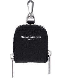 Maison Margiela Кожаный Чехол Для Airpods - Черный