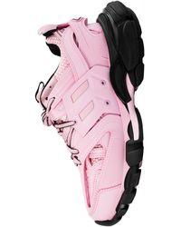 Balenciaga Розовые Кроссовки Track - Розовый