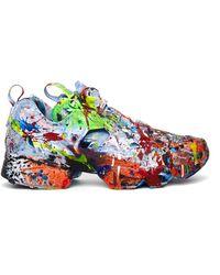 Vetements Reebok The Masterpiece Sneakers - Blue