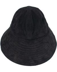 Hender Scheme Suede Bucket Hat - Black
