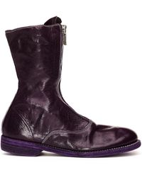 Guidi - Front Zip Horse Leather Boots - Lyst