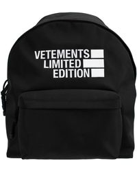 Vetements Limited Edition Backpack - Black