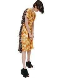 Vetements Комбинированное Платье Archive - Многоцветный