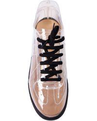 Maison Margiela Transparent Replica Sneakers - White