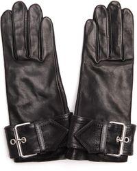Balenciaga - Leather Gloves - Lyst