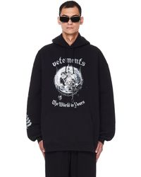 Vetements The World Is Yours Hoodie - Black
