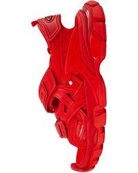 Balenciaga Красные Сандалии Track - Красный