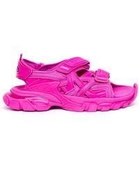 Balenciaga Розовые Сандалии Track - Розовый