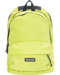 Balenciaga Neon Db Backpack - Green
