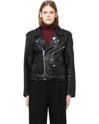 Enfants Riches Deprimes - Leather Biker Jacket - Lyst
