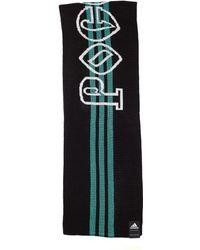Gosha Rubchinskiy Black & Green Adidas Scarf