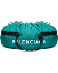 Balenciaga Wheel Bag Xl - Green