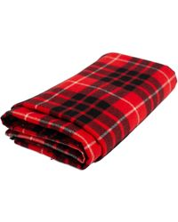 Undercover Ism Wool Scarf - Red