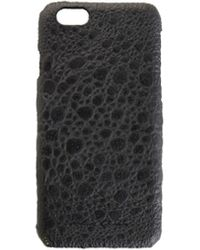 Rick Owens Iphone 6/6s Leather Case - Black