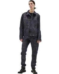 Isaac Sellam Refractaire Buttoned Jacket - Blue