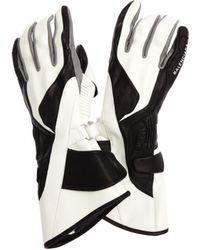Balenciaga Leather Gloves - White