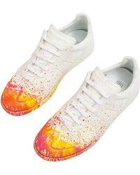 Maison Margiela Colour Splash Replica Sneakers - White