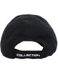 Balenciaga Черная Кепка С Вышивкой Ps5 - Черный