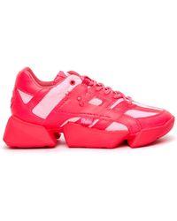 Junya Watanabe X Buffalo Pink Sneakers