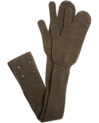 Maison Margiela Wool Gloves - Multicolour