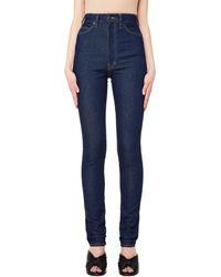 Maison Margiela - Blue Skinny Jeans - Lyst