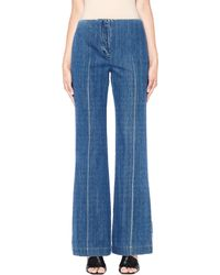 The Row - Flared Denim Trousers - Lyst