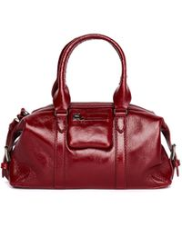 Ann Demeulemeester Red Leather Bag