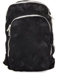 Guidi - Suede Backpack - Lyst