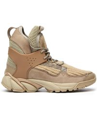 Undercover - Rib-knit Hi-top Trainers - Lyst