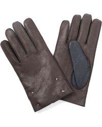 Maison Margiela - Leather Gloves - Lyst
