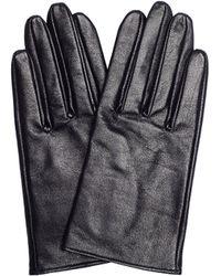 Yohji Yamamoto - Black Leather Gloves - Lyst